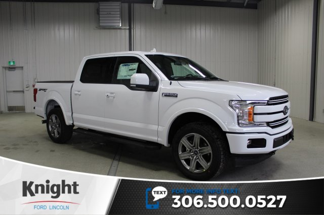 New 2018 Ford F 150 Lariat Sport Crew Cab Pickup In Moose