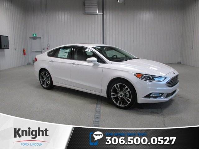 New 2017 Ford Fusion Titanium 4dr Car in Moose Jaw FU7935