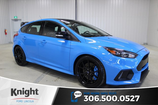 new 2018 ford focus rs hatchback in moose jaw fc8353 knight ford lincoln. Black Bedroom Furniture Sets. Home Design Ideas